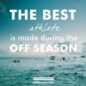 best athletes are made in the off season